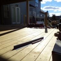 Deck Building in Belle Mead, NJ - Before